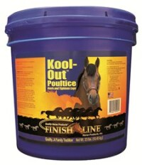 Finish Line Kool Out poultice - Thoroughbred Racing