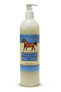 Zephers Muscle Liniment Gel - Thoroughbred Racing